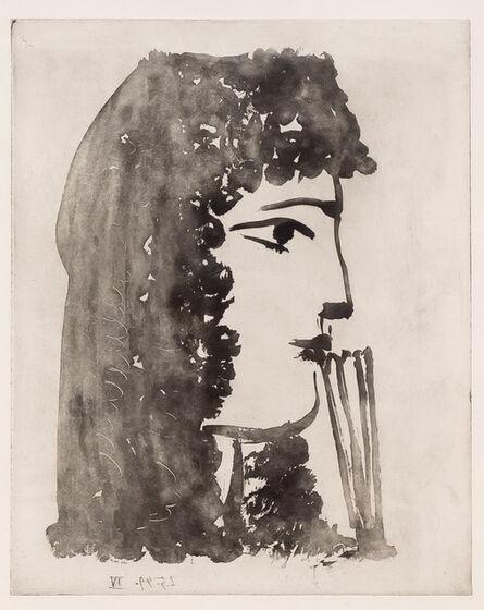 Pablo Picasso, 'Carmen, de Profil', 1949