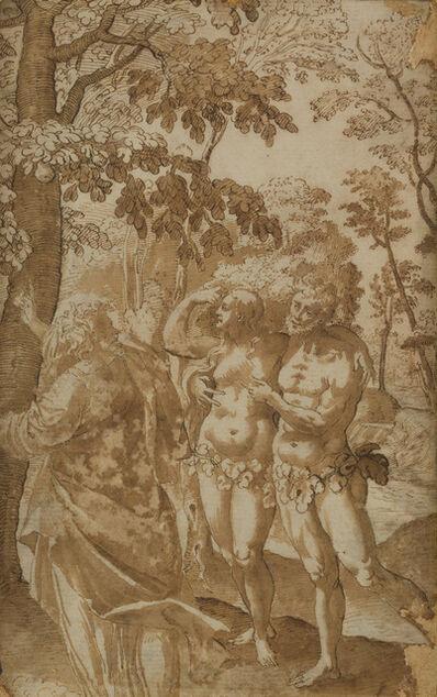 Maarten de Vos, 'The Creation of Adam and Eve', Late 16th Century