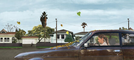Liron Kroll, 'High Expectations, Sitting in the Car', 2011