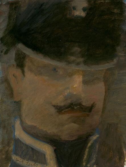 David Fertig, 'Lieutenant Freidrich Von Trott, Death's Head Hussar, at Waterloo', 2014