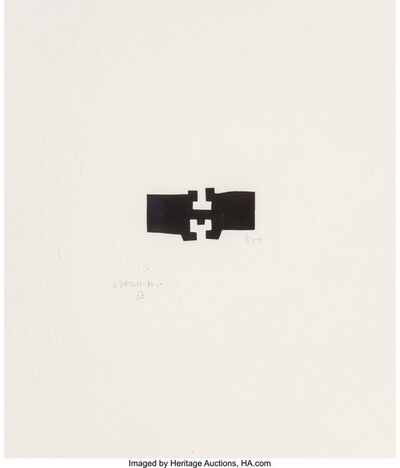 Eduardo Chillida, 'Guggenheim I', 1980