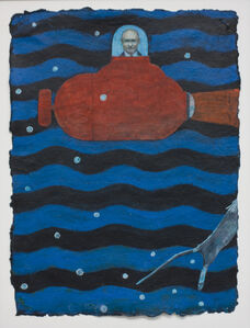 Stephen March, 'Study for Sinking Ship and Creatures of the Deep (Vladimir)', 2019