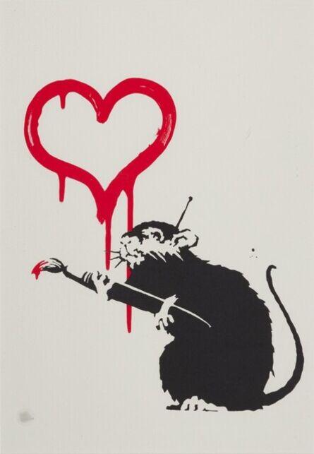 Banksy, 'Love Rat', 2003