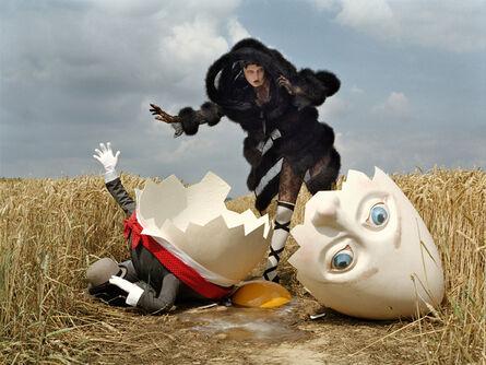 Tim Walker, 'Karlie Kloss and broken Humpty Dumpty, Rye, East Sussex, 2010  ', 2010