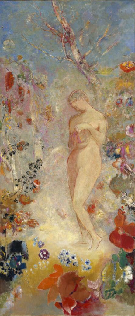 Odilon Redon, 'Pandore (Pandora)', ca. 1914