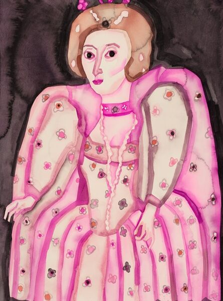 Hu Zi 胡子, 'Elizabeth I of England 英格兰伊丽莎白一世', 2019