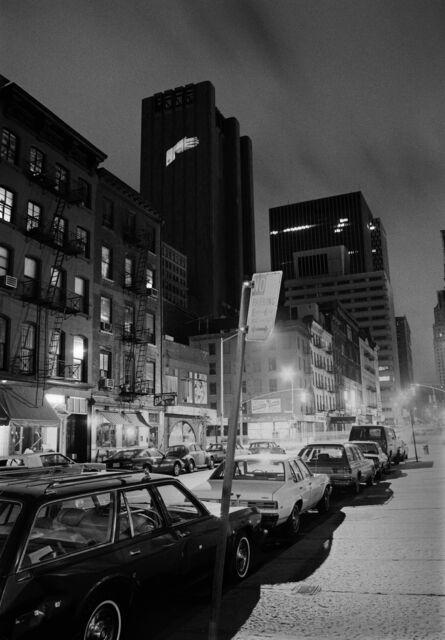 Krzysztof Wodiczko, 'AT&T Long Lines Building, New York', 1984
