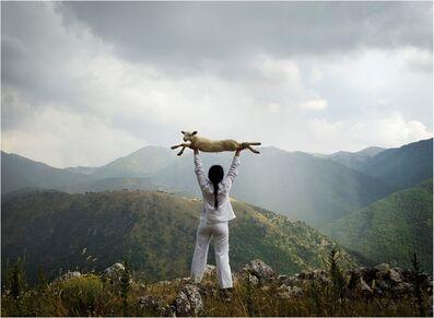 Marina Abramović, 'Holding the Lamb', 2010