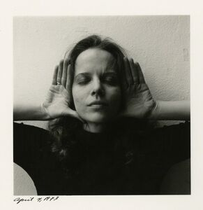 Melissa Shook, 'Self-Portrait, April 4, 1973', 1973