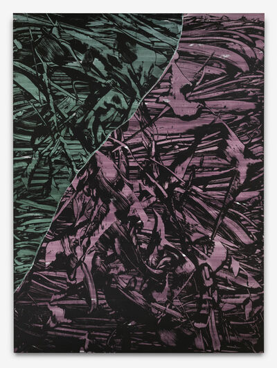 Judy Millar, 'Split Ferryman', 2012