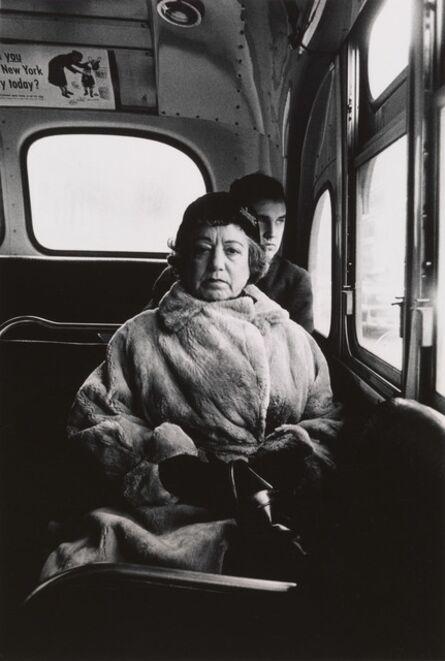 Diane Arbus, 'Lady on a bus, N.Y.C.', 1957
