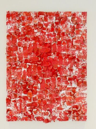 Arman, 'Red Tubes', 1980