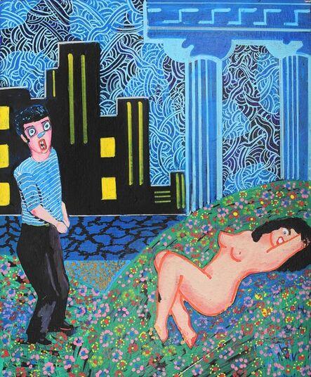 Mike Stevens, 'La femme abandonnée', 2020