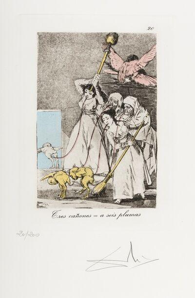Salvador Dalí, 'Plate 20 (From Les Caprices de Goya de Dali) (M & L 867)', 1977