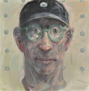 Robert Indermaur, 'Kopf (Mit Brille Und Hut)', 2017