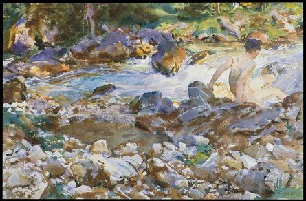 John Singer Sargent, 'Mountain Stream', ca. 1912–1914