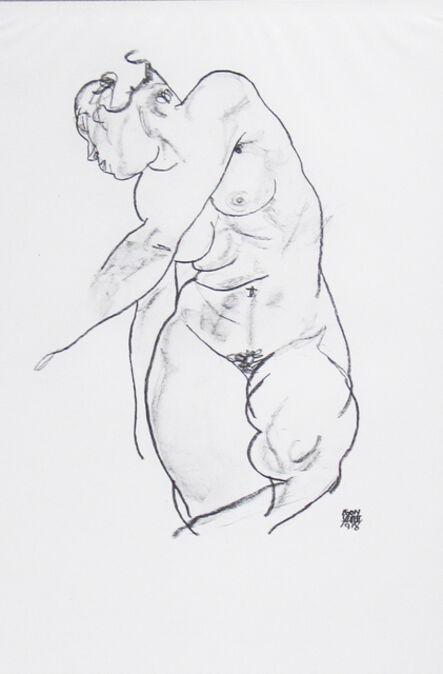 Egon Schiele, 'Female Nude [Handzeichnungen]', 1920