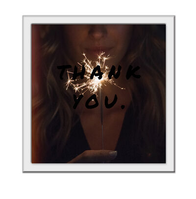 Luis Fernando Salazar, ''Thank You' from the Ho'oponopono series', 2016