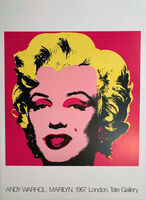 Andy Warhol, 'Andy Warhol Marilyn 1967 London, Tate Gallery Poster, Gallery Poster ', 1987