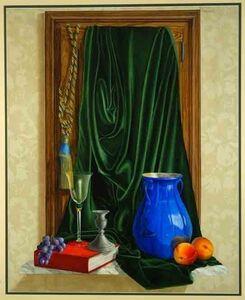 Patrick Kirwin, 'French Still Life (Blue Vase)'