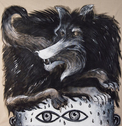 Alexandra Borovski, 'Fear is a Black Dog, it is a Hat you Wear on your Head that you will Take Off when you Come in From the Cold', 2020