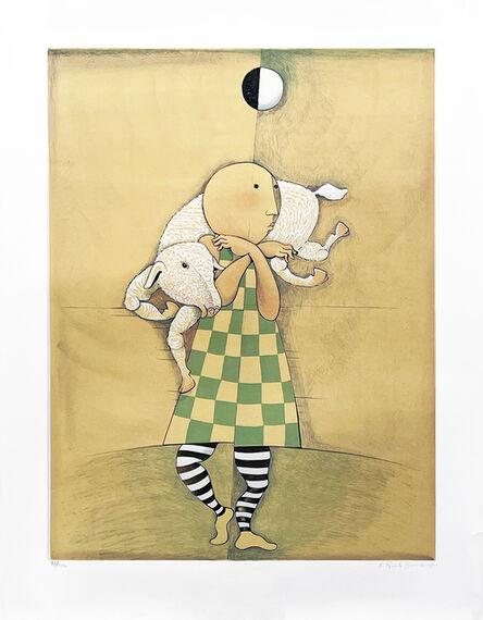 Graciela Rodo Boulanger, ' 'Boy with Lamb', 1980-1990