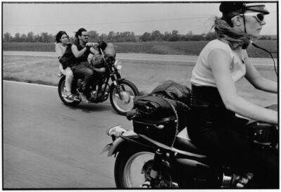 Danny Lyon, 'From Dayton to Colombus, Ohio, The Bikeriders Portfolio', 1966