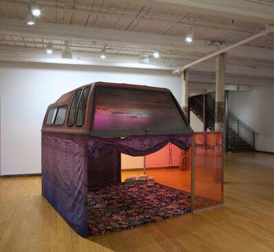 Sarah Braman, 'Driving, sleeping, screwing, reading', 2016