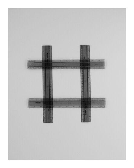 Ignacio Uriarte, 'Four Geometry Sets Rulers 9A', 2011