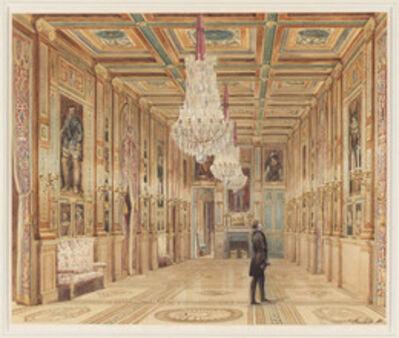 Alexandre-Dominique Denuelle, 'View of the Picture Gallery at the Château d'Eu (Vue de la Galerie au Château d'Eu)', 1844