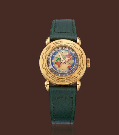 Patek Philippe, 'Yellow gold world-time wristwatch'