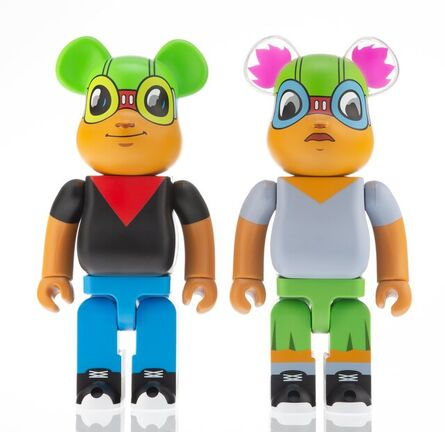 BE@RBRICK, 'Flyboy and Lil Mama 400% (two works)', 2019