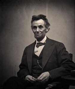 Alexander Gardner, 'Lincoln', 1865
