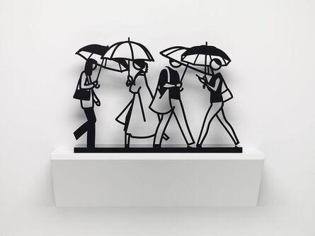 Julian Opie, 'Summer Rain 1', 2020