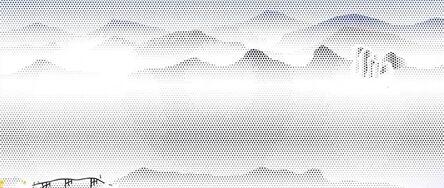 Roy Lichtenstein, 'Vista with Bridge', 1996