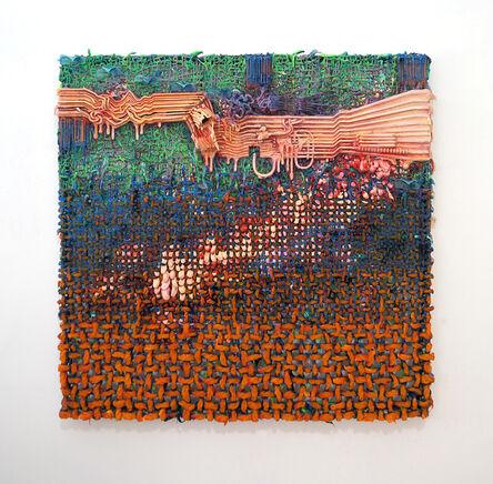 Fabian Marcaccio, 'Ground Shifts Paintant', 2017