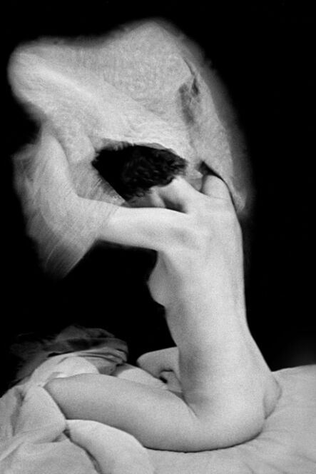 René Groebli, 'Sitting nude, The Eye of Love, Paris', 1952