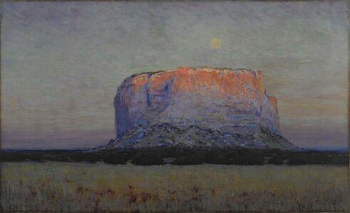 Arthur Wesley Dow, 'The Enchanted Mesa', 1913