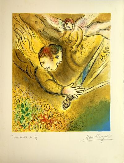 Marc Chagall, 'L'Ange du jugement', 1974