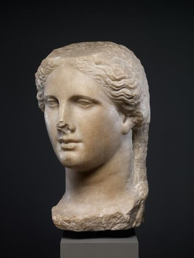 Unknown Greek, 'Marble head of a Ptolemaic queen', ca. 270–250 B.C.