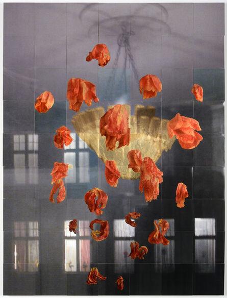 Henrik U. Müller, 'Kronleuchter mit Tulpen III / Chandelier with tulips III', 2019