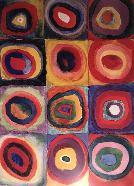 Wassily Kandinsky, 'Studio del colore', ca. 2000