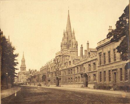 Roger Fenton, 'Oxford High Street', 1859