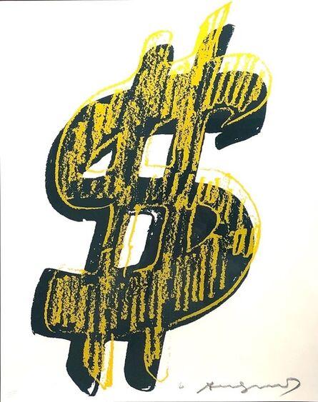 Andy Warhol, 'Dollar Sign, Yellow  (FS II.278)', 1982