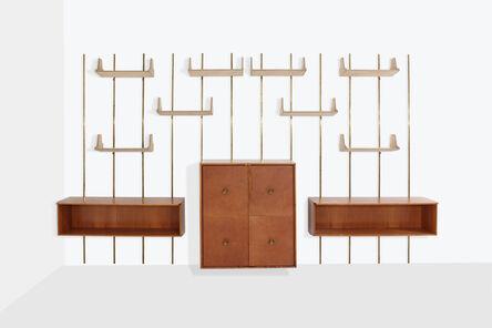 Osvaldo Borsani, 'Bookcase with bar cabinet by Osvaldo Borsani', 1960s