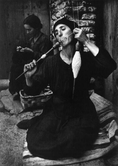 W. Eugene Smith, 'The Spinner', 1950