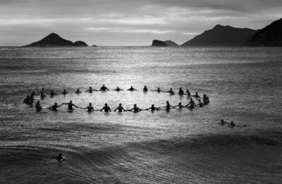 Olaf Heine, 'Paddle Out, Recreio dos Bandeirantes', 2013