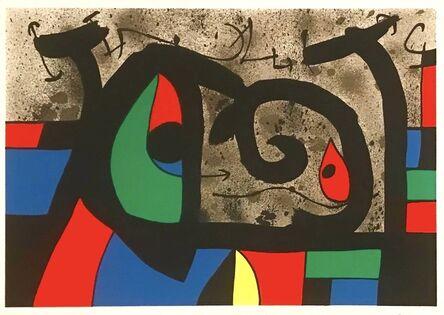 Joan Miró, 'Le Lezard aux Plumes d'Or (Pl. IX)', 1971