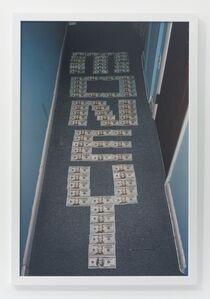 Andrew Jeffrey Wright, 'The word money in hallway', 2009