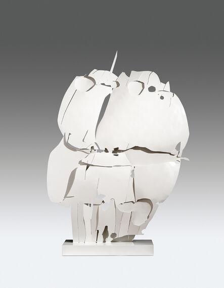 Pietro Consagra, 'Ferro trasparente bianco V', 1966